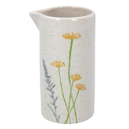 Gisela Graham Daisy & Lavender Milk Jug