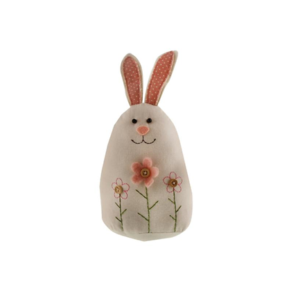 SAGE Fabric Rabbit Decoration 28cm
