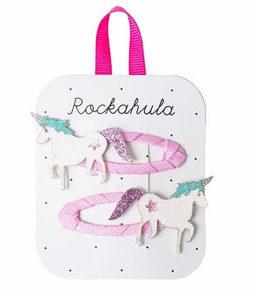 Rockahula - Unicorn Glitter Clips