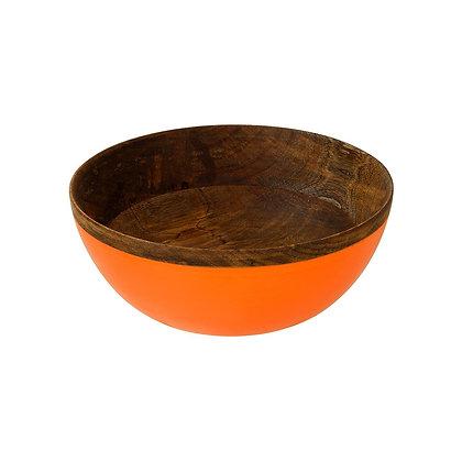 Boho Spice Large Mango Wood Bowl