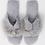 Thumbnail: Pia Rossini Zoe Fluffy Slippers Grey