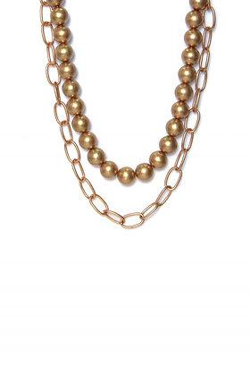 Chunky Bead Gold Chain
