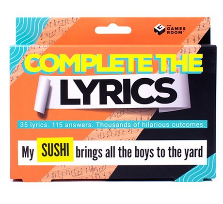 Complete The Lyrics