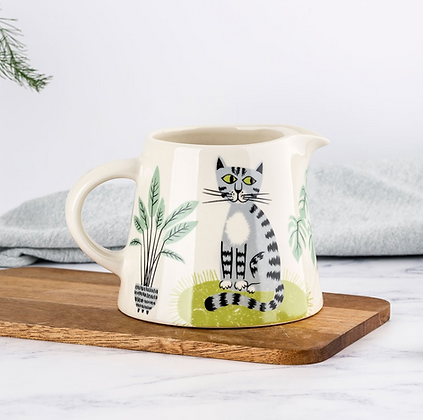 Hannah Turner - Handmade Ceramic Cat Milk Jug