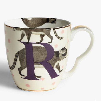 Alphabet Mug - R