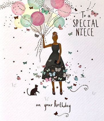 PAPERLINK To A Special Niece On Your Birthday