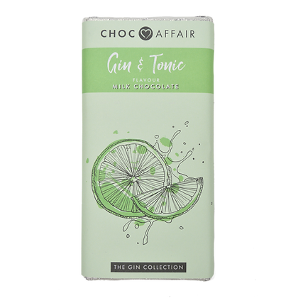 CHOC AFFAIR Gin & Tonic Milk Chocolate