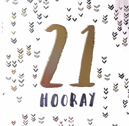HOTCHPOTCH 21st Birthday