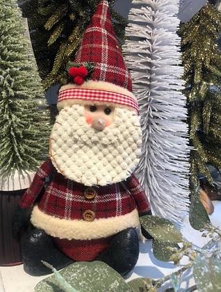 Decorative Christmas Sitting Santa