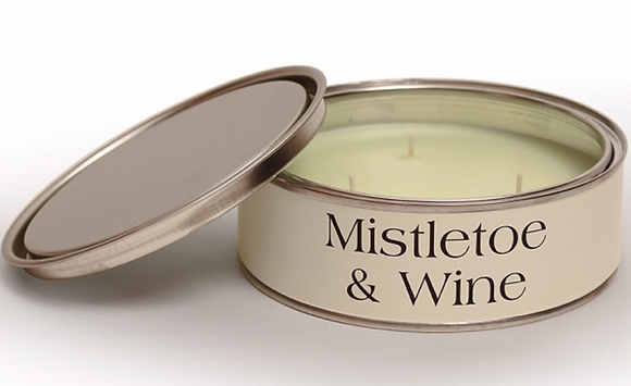 Mistletoe and Wine Triple Wick Candle