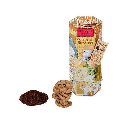 Break Time Coffee and Belgian Chunky Chocolate Biscotti