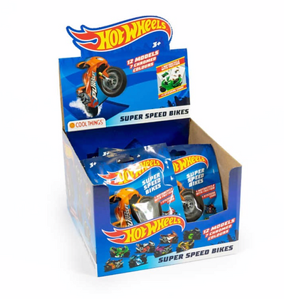 HOT WHEELS BLIND BAGS - SUPER SPEED BIKES