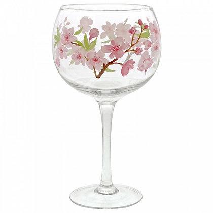 ENESCO Gin Copa Glass- Cherry Blossom