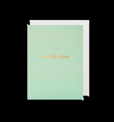 LAGOM I Miss You Mini Card