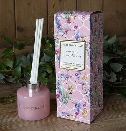Irish Botanicals Peony Rose and Wild Apple Mint diffuser