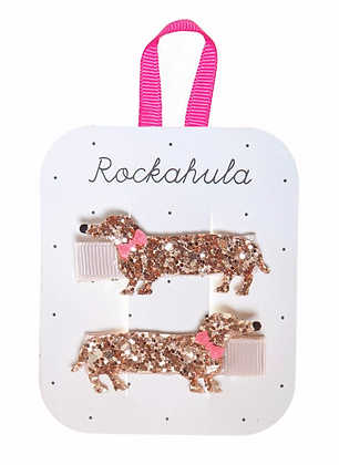 Rockahula - Morris sausage dog clips