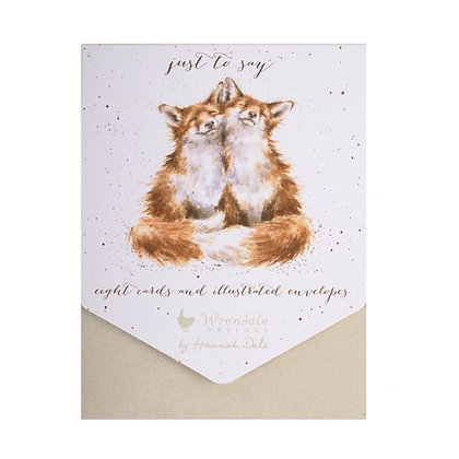 Foxes Just To Say Notes