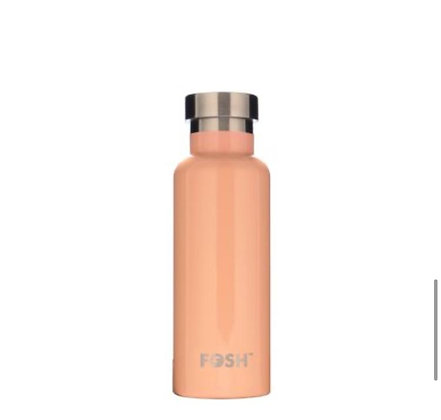 Stainless Steel Drink Bottle - APRICOT GLOSS GIFT BOXED