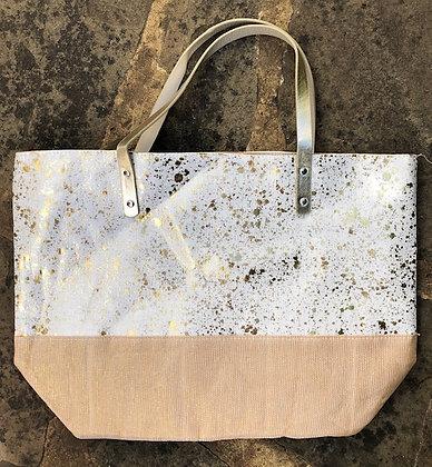EQUILIBRIUM Splash Tote Bag-Gold