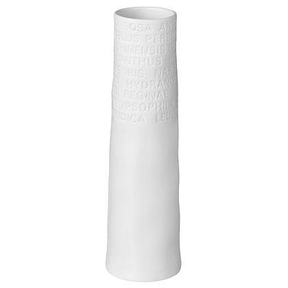 Rader vase small text