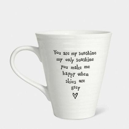 You Are My Sunshine Porcelain Mug
