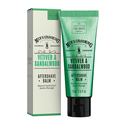 THE SCOTTISH FINE SOAPS Vetiver & Sandalwood Aftershave