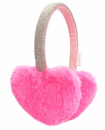 Rockahula - Love Heart Earmuffs Neon