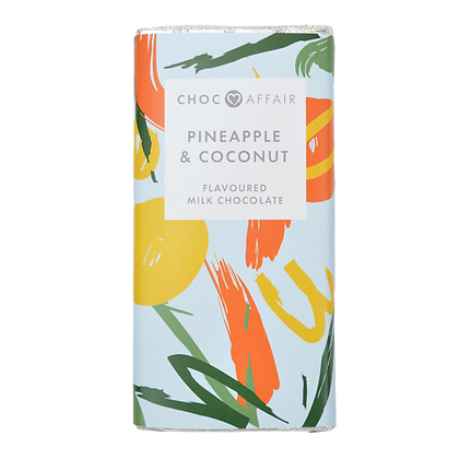 CHOC AFFAIR Pineapple & Coconut Milk Chocolate