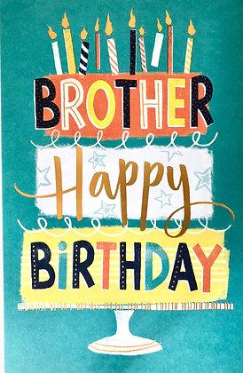 UK GREETINGS Brother Happy Birthday
