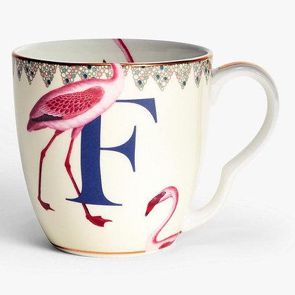 Alphabet Mug - F