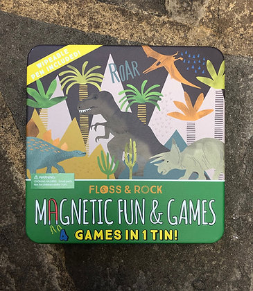 FLOSS & ROCK Dino Magnetic Games