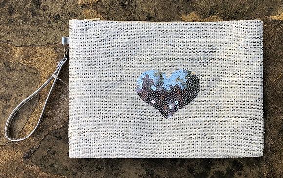 STRAITS Heart Bag - Silver