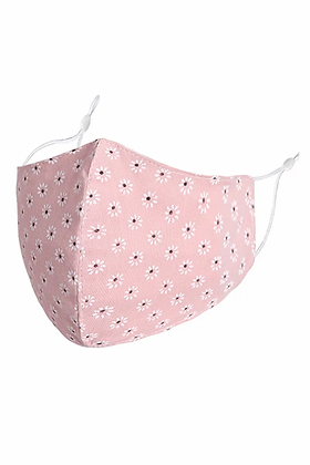 ZELLY Adult Face Mask- Pink Daises