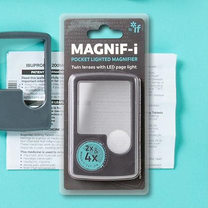 MAGNiF-i Pocket Lighted Magnifier