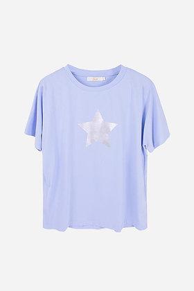 Denim Blue Star Top MEDIUM