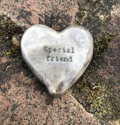EAST OF INDIA Porcelain Special Friend Stone