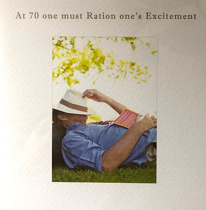 SUSN O'HANLON At 70 One Must Ration