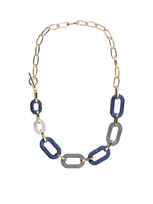 BIG METAL Petra Matte Resin Chunky Chain Necklace