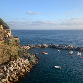 Who's on First, The Money Shot, and Deep Fried Cheese in Cinque Terre!