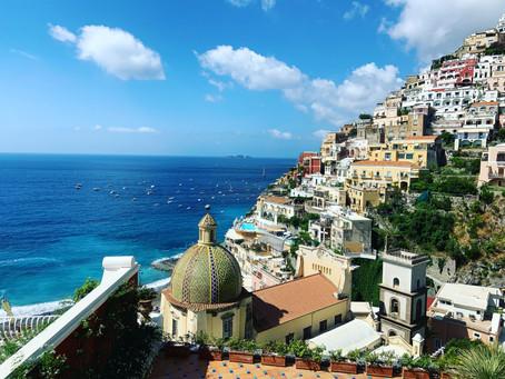 Pompei, Panzella in Positano, Shopping in Sorrento, Capri and Ya Gotta Have Friends…