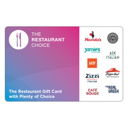 RR247 - £25 Restaurant Choice Vouche