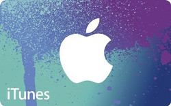 RR123 iTunes gift card