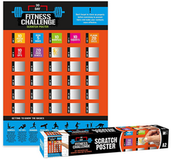 RR363 - Fitness Day Challenge Poster