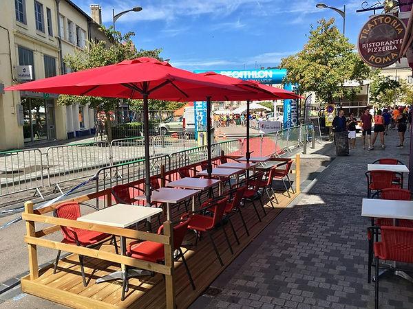 Restaurant Terrasse Pont Audemer