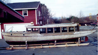 Corsaire III- 1913 44' Lawley Fantail Glass Cabin Lauch