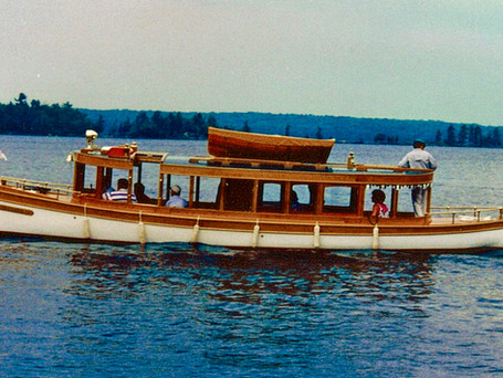 Elizabeth J- 1898 36' Davis Glass Cabin Launch