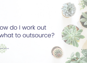 How do I work out what to outsource?