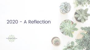 2020 - A reflection