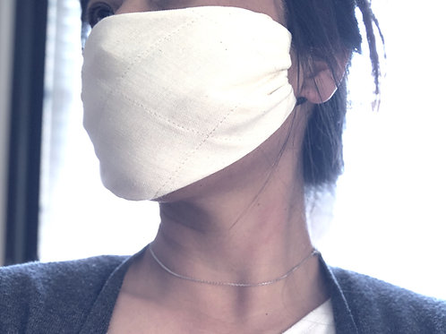 Organic cotton for Reusable mask with Essential oil set