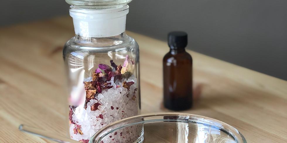 薔薇のバスソルト Rose bath salt